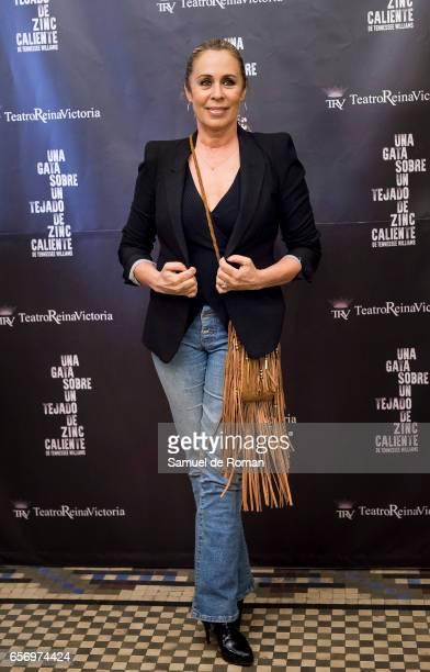 Miriam Diaz Aroca attends 'Una Gata Sobre Un Tejado de Zinc Caliente' Madrid Premiere on March 23 2017 in Madrid Spain