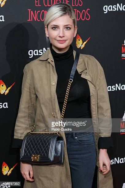 Miriam Giovanelli attends 'El Club de los Incomprendidos' Premiere on December 1 2014 in Madrid Spain