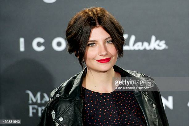 Miriam Giovanelli attends fashion 'ICON Awards Men of the Year' at Casa Velazquez on October 15 2015 in Madrid Spain
