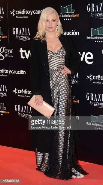 Miriam Giovanelli attends Goya Cinema Awards 2014 after party at Centro de Congresos Principe Felipe on February 9 2014 in Madrid Spain