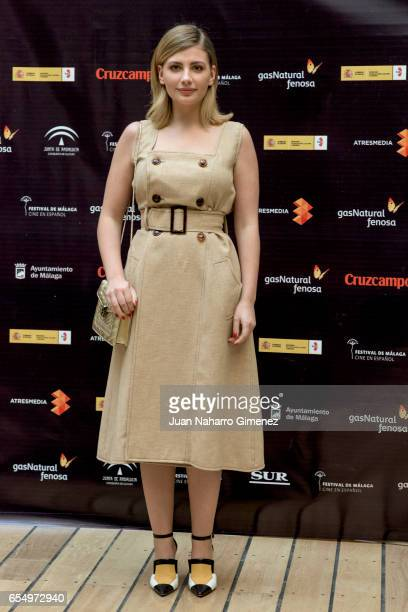 Miriam Giovanelli attends photocall during the 20th Malaga Film Festival 2017 at UMA Rectorado on March 18 2017 in Malaga Spain