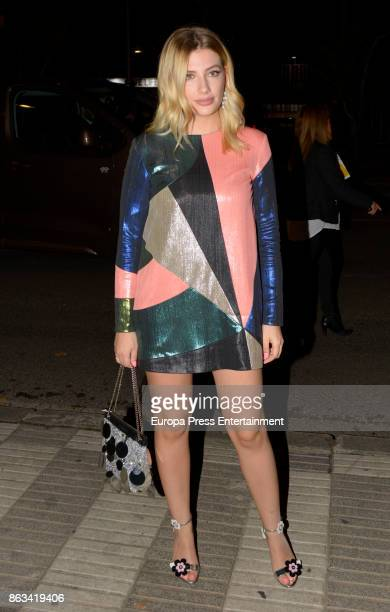 Miriam Giovanelli attends the Cosmpolitan Awards #COSMOAWARDS at Graf club on October 19 2017 in Madrid Spain