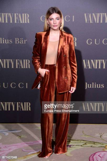 Miriam Giovanelli attends the gala 'Vanity Fair Personality of the Year' to Garbine Muguruza at Ritz Hotel on November 21 2017 in Madrid Spain