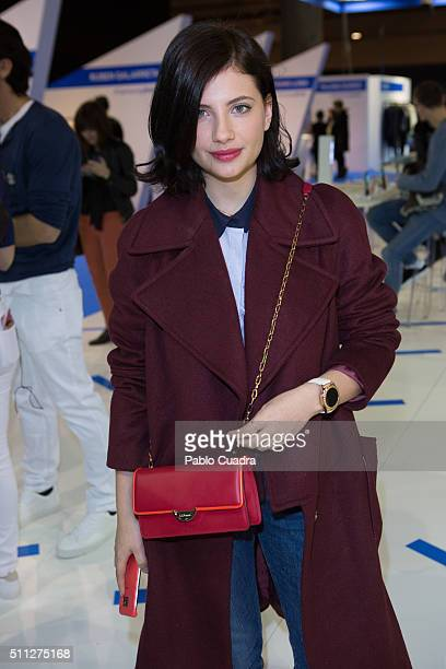 Miriam Giovanelli attends the MercedesBenz Madrid Fashion Week Autumn/Winter 2016/2017 at Ifema on February 19 2016 in Madrid Spain