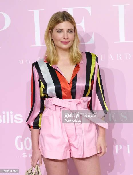 Miriam Giovanelli attends the 'Pieles' premiere pink carpet at Capitol cinema on June 7 2017 in Madrid Spain