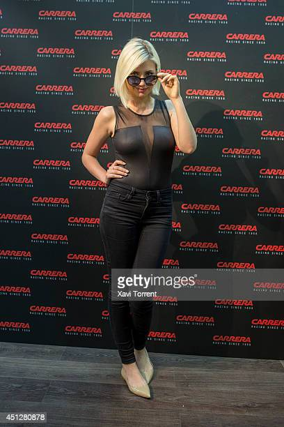Miriam Giovanelli attends the presentation of 'Carrera New Metal Icon Collection' on June 26 2014 in Barcelona Spain