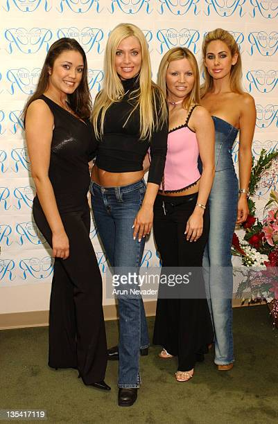 Miriam Gonzalez Playboy Playmate March 2001 Sheila Levell Michelob Girl Renee Sloan Playboy Playmate and Shauna Sand Playboy Playmate May 1996