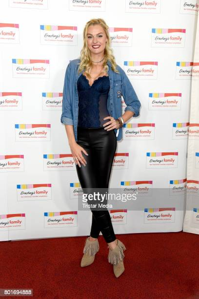 Miriam Hoeller attends the Ernsting's Family Fashion Show at Stage Operettenhaus on June 26 2017 in Hamburg Germany