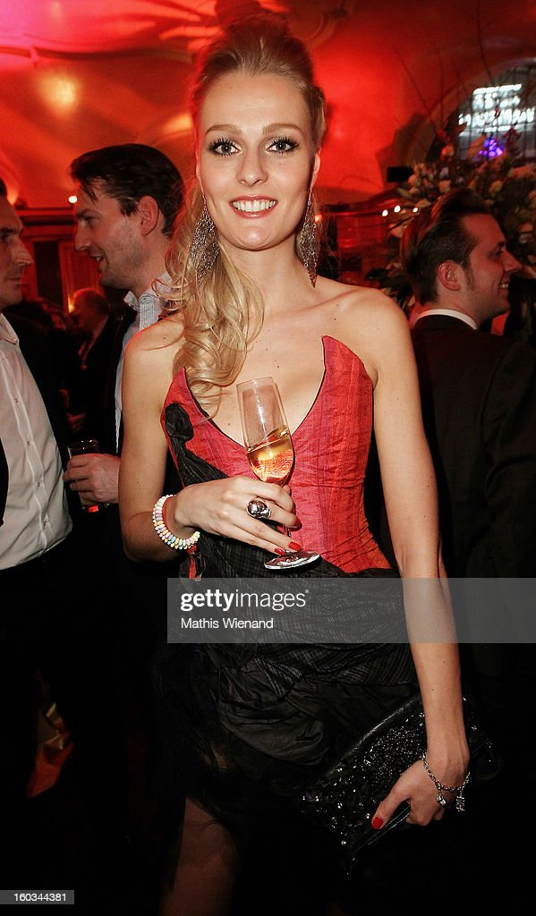 Miriam Hoeller attends the 'Lambertz Monday Night' at 'Alter Wartesaal' on January 28, 2013 in Cologne, Germany.