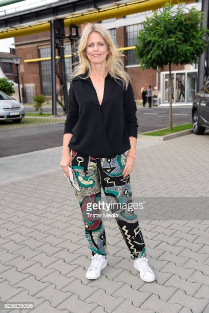 Miriam Lahnstein attends the PF Selected show during Platform Fashion July 2017 at Areal Boehler on July 23 2017 in Duesseldorf Germany