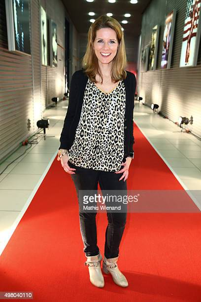 Miriam Lange attends the RTL Telethon 2015 on November 19 2015 in Cologne Germany This year marks the 20th anniversary of the RTL Telethon Instead of...