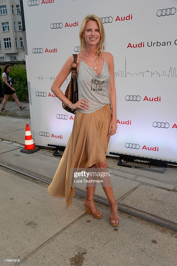 Miriam Langenscheidt attends the ' Audi Urban Cinema ' on June 20, 2013 in Berlin, Germany.