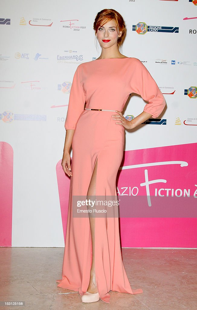 Miriam Leone attends the ' RomaFictionFest 2012 - Opening Ceremony' at Auditorium Parco Della Musica on September 30, 2012 in Rome, Italy.