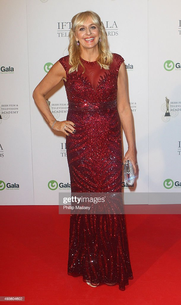 Miriam O'Callaghan attends the IFTA Gala Television Awards on October 22, 2015 in Dublin, Ireland.