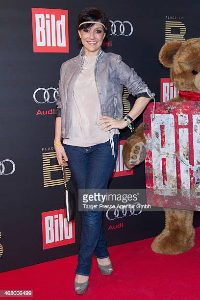 Miriam Pielhau attends the BILD 'Place to B' Party at Grill Royal on February 8 2014 in Berlin Germany