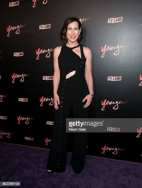 Miriam Shor attends the 'Younger' season four premiere party on June 27 2017 in New York City