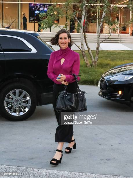 Miriam Shor is seen on May 13 2017 in Los Angeles California