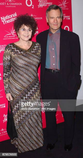 Miriam Stoppard and her husband Sir Christopher Hogg arrive