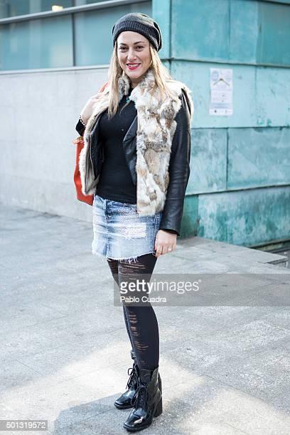 Short skirts and stockings stock fotos und bilder getty - Miss sixty madrid ...