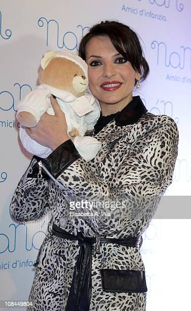 Miriana Trevisan attends the Nanan Flagship Store Opening on January 27 2011 in Rome Italy
