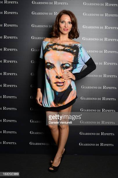Miriana Trevisan attends the Tiziana Rocca Comunicazione and Residenza di Ripetta Glamour Event on October 1 2012 in Rome Italy