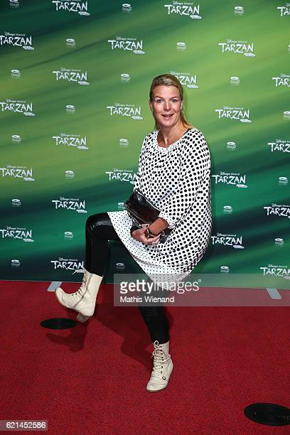 Mirja Boes attends 'Tarzan' Musical Premiere on November 6 2016 in Oberhausen Germany