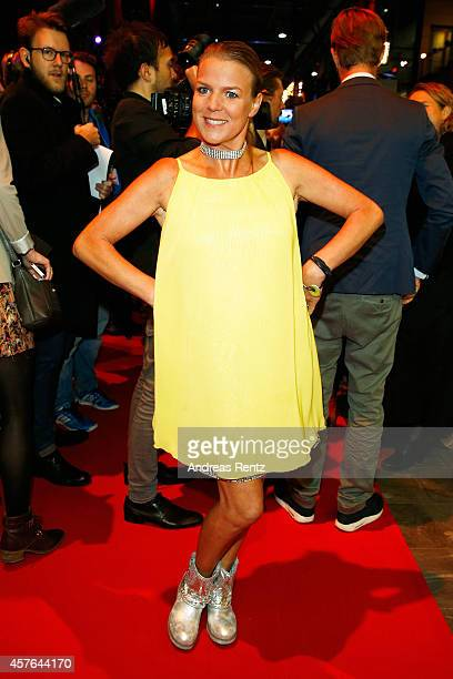 Mirja Boes attends the 18th Annual German Comedy Awards at Coloneum on October 21 2014 in Cologne Germany The show will be aired on RTL on October 25