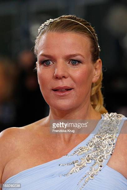 Mirja Boes attends the German TV Award 2012 at Coloneum on October 2 2012 in Cologne Germany