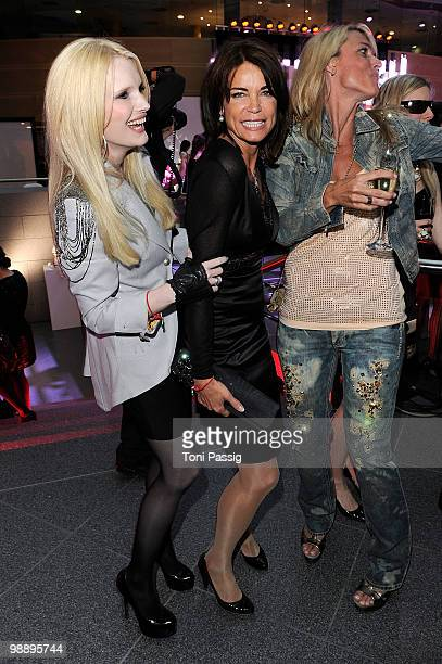 Mirja du Mont and actress Gerit Kling attend the 'OK Style Award 2010' at the british embassy on May 6 2010 in Berlin Germany
