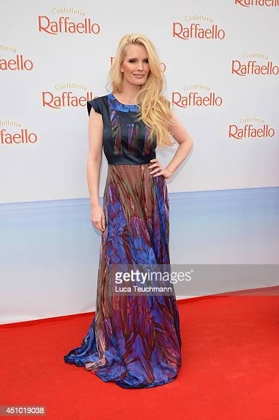Mirja du Mont attends the Raffaello Summer Day 2014 at Kronprinzenpalais on June 21 2014 in Berlin Germany