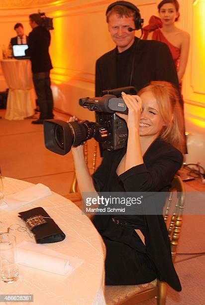Mirjam Weichselbraun attends the Romy 2014 Academy Awards at Hofburg Vienna on April 24 2014 in Vienna Austria