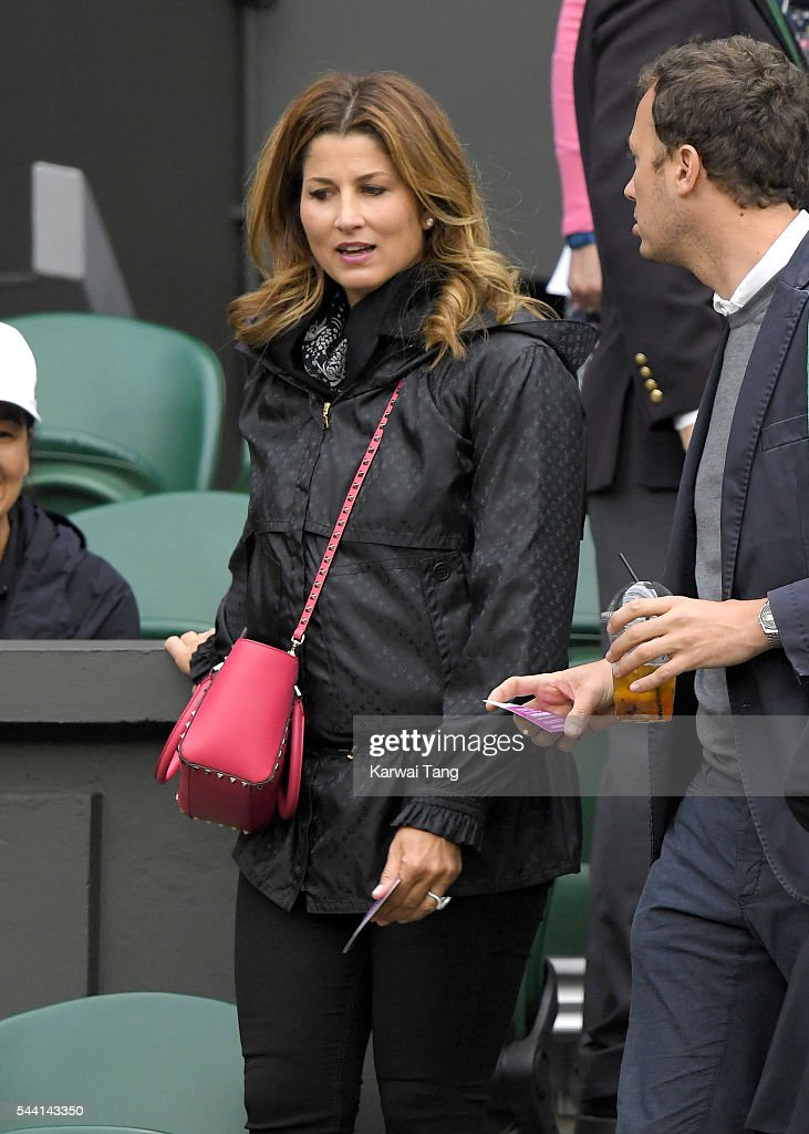 <a gi-track='captionPersonalityLinkClicked' href=/galleries/search?phrase=Mirka+Federer&family=editorial&specificpeople=5876523 ng-click='$event.stopPropagation()'>Mirka Federer</a> attends day five of the Wimbledon Tennis Championships at Wimbledon on July 01, 2016 in London, England.