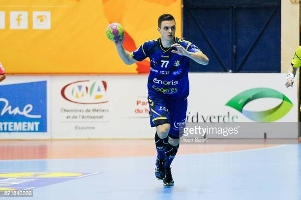 Mirko Herceg of Massy during the Lidl Starligue match between Massy and Chambery on November 8 2017 in Massy France