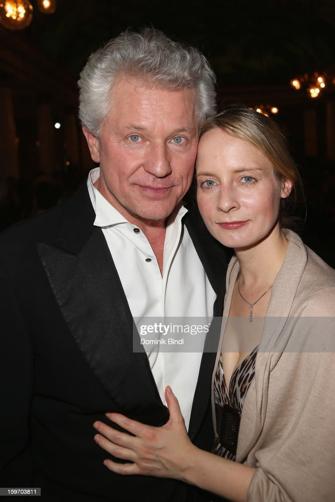 Miroslav Nemec and Katrin Jaeger attend the Bavarian Movie Awards 2013 after party on January 18, 2013 in Munich, Germany.