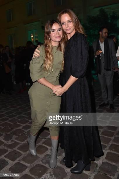 Miroslava Duma and Stella McCartney host Fashion Tech Lab launch event as part of Paris Fashion Week Womenswear Spring/Summer 2018 on October 2 2017...