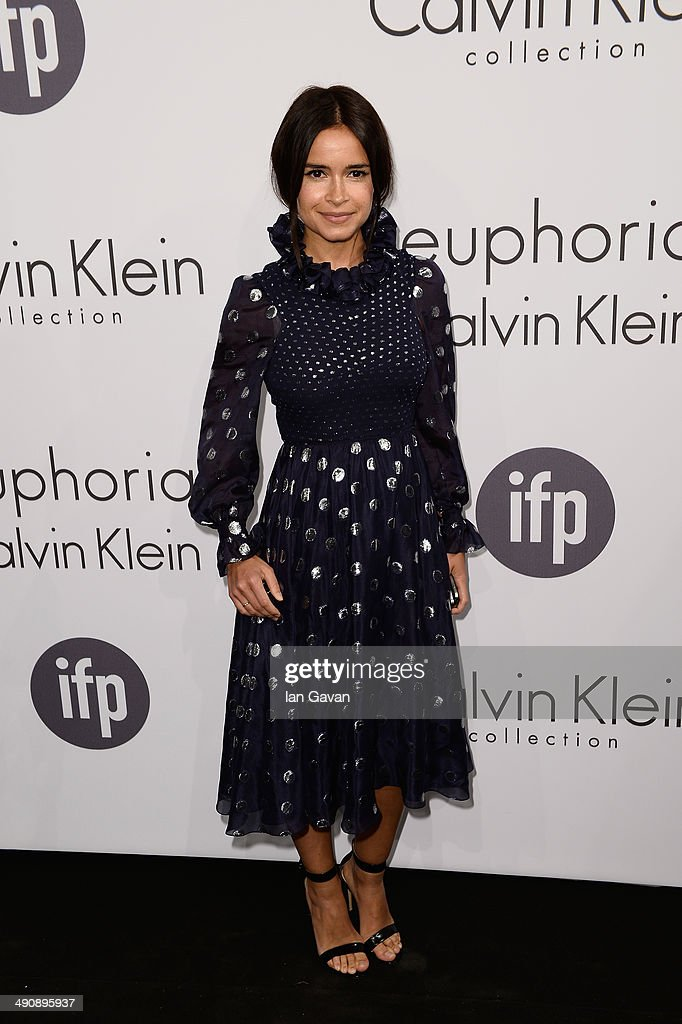 Miroslava Duma attends the Calvin Klein party during the 67th Annual Cannes Film Festival on May 15 2014 in Cannes France