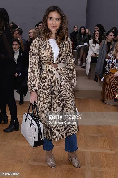 Miroslava Duma attends the Chloe show as part of the Paris Fashion Week Womenswear Fall/Winter 2016/2017 on March 3 2016 in Paris France