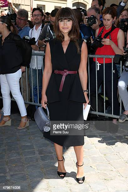 Miroslava Duma attends the Christian Dior show as part of Paris Fashion Week Haute Couture Fall/Winter 2015/2016 on July 6 2015 in Paris France
