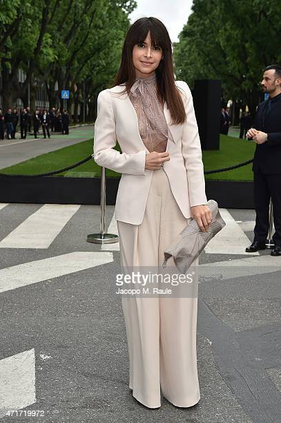 Miroslava Duma attends the Giorgio Armani 40th Anniversary Silos Opening And Cocktail Reception on April 30 2015 in Milan Italy