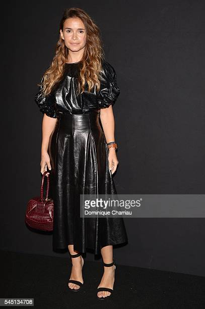 Miroslava Duma attends the Giorgio Armani Prive Haute Couture Fall/Winter 20162017 show as part of Paris Fashion Week on July 5 2016 in Paris France