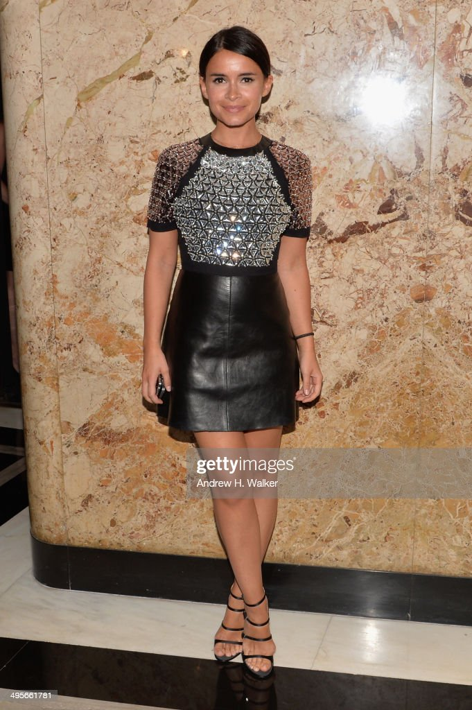 <a gi-track='captionPersonalityLinkClicked' href=/galleries/search?phrase=Miroslava+Duma&family=editorial&specificpeople=7039024 ng-click='$event.stopPropagation()'>Miroslava Duma</a> attends the Gucci beauty launch event hosted by Frida Giannini on June 4, 2014 in New York City.