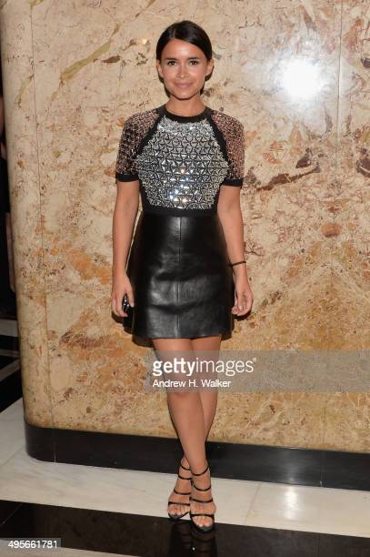 Miroslava Duma attends the Gucci beauty launch event hosted by Frida Giannini on June 4 2014 in New York City