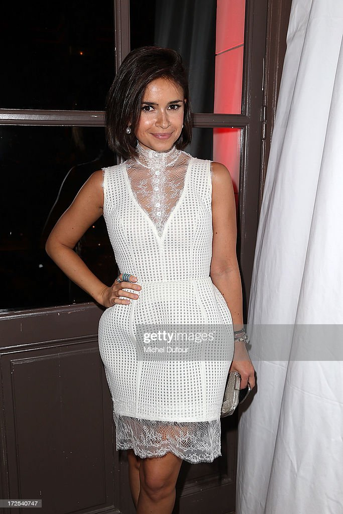 Miroslava Duma attends the 'Lancome Show by Alber Elbaz' at Le Trianon on July 2, 2013 in Paris, France.