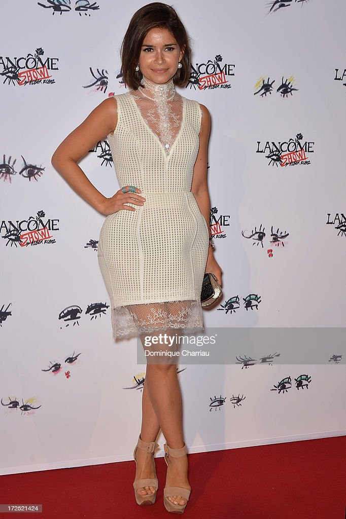 <a gi-track='captionPersonalityLinkClicked' href=/galleries/search?phrase=Miroslava+Duma&family=editorial&specificpeople=7039024 ng-click='$event.stopPropagation()'>Miroslava Duma</a> attends the 'Lancome Show By Alber Elbaz' Party at Le Trianon on July 2, 2013 in Paris, France.