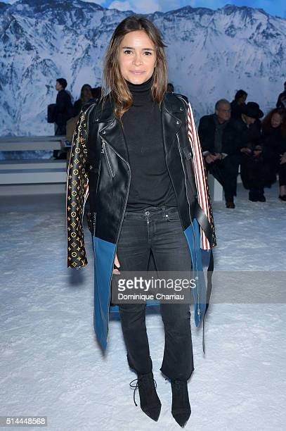 Miroslava Duma attends the Moncler Gamme Rouge show as part of the Paris Fashion Week Womenswear Fall/Winter 2016/2017 on March 9 2016 in Paris France