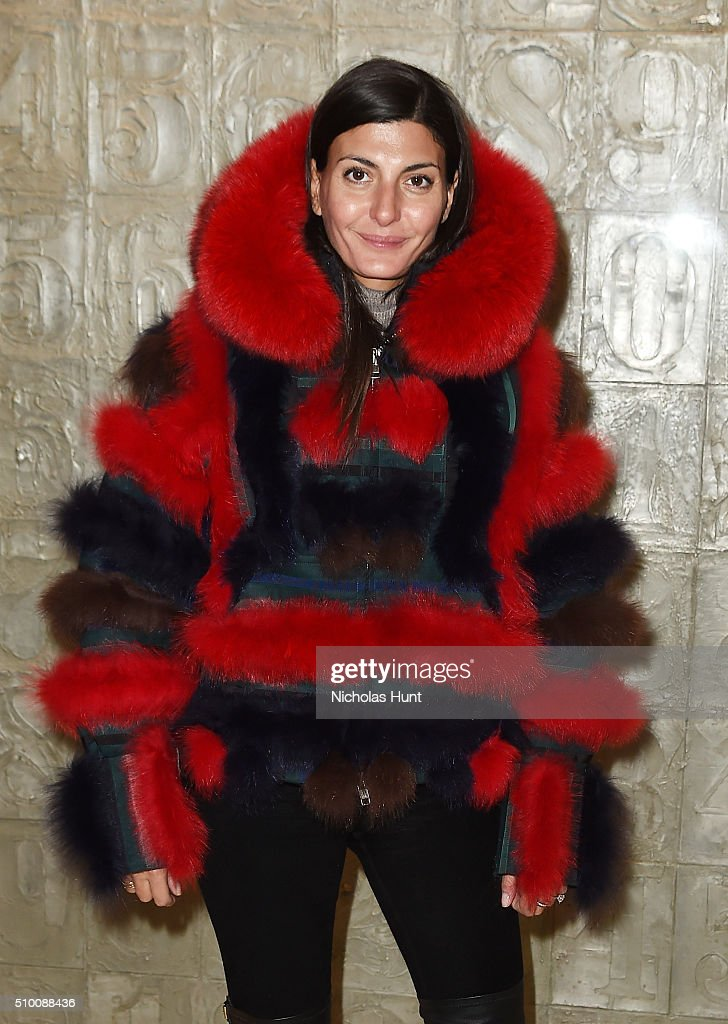 <a gi-track='captionPersonalityLinkClicked' href=/galleries/search?phrase=Miroslava+Duma&family=editorial&specificpeople=7039024 ng-click='$event.stopPropagation()'>Miroslava Duma</a> attends the Moncler Grenoble FW 16-17 presentation during New York Fashion Week at Lincoln Center on February 13, 2016 in New York City.
