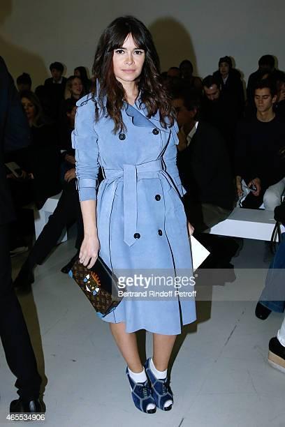 Miroslava Duma attends the Nina Ricci show as part of the Paris Fashion Week Womenswear Fall/Winter 2015/2016 on March 7 2015 in Paris France