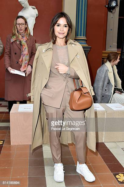 Miroslava Duma attends the Sonia Rykiel show as part of the Paris Fashion Week Womenswear Fall/Winter 2016/2017 on March 7 2016 in Paris France
