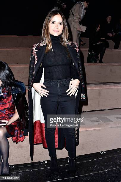 Miroslava Duma attends the Valentino show as part of the Paris Fashion Week Womenswear Fall/Winter 2016/2017 on March 8 2016 in Paris France