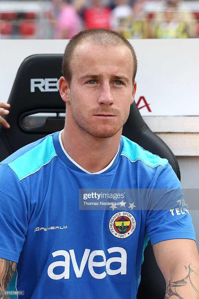 Miroslaw Stoch of Fenerbahace Istanbul looks on prior to the friendly match between 1.FC Nuernberg and Fenerbahce Istanbul at the Easy Credit stadium on August 16, 2011 in Nuremberg, Germany.